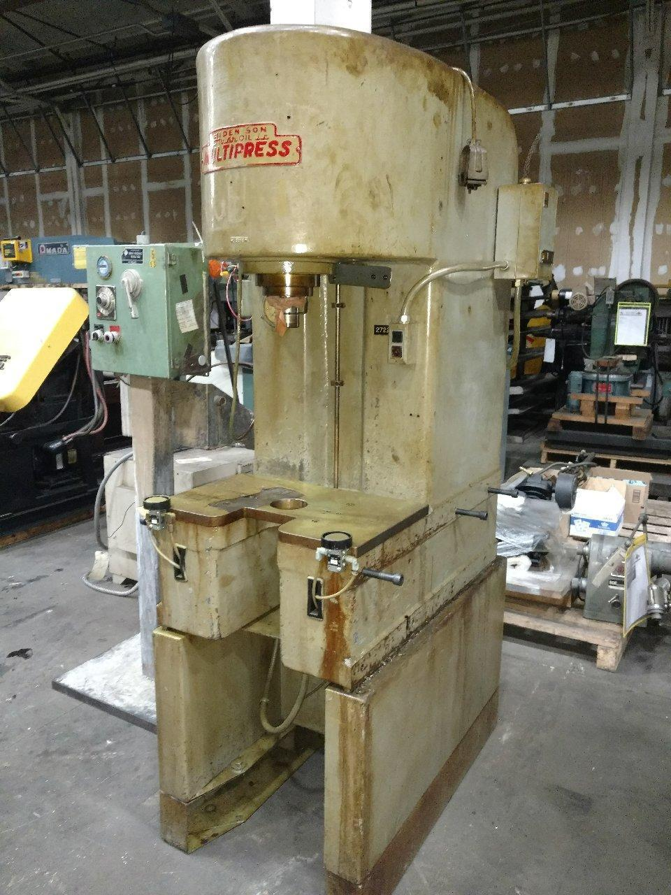 Denison 8 Ton Hydraulic Press