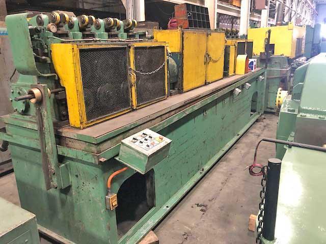"""1 1/4"""" Lewis Model 15 VFHA Wire Straighten and Cutoff Machine (13853)"""