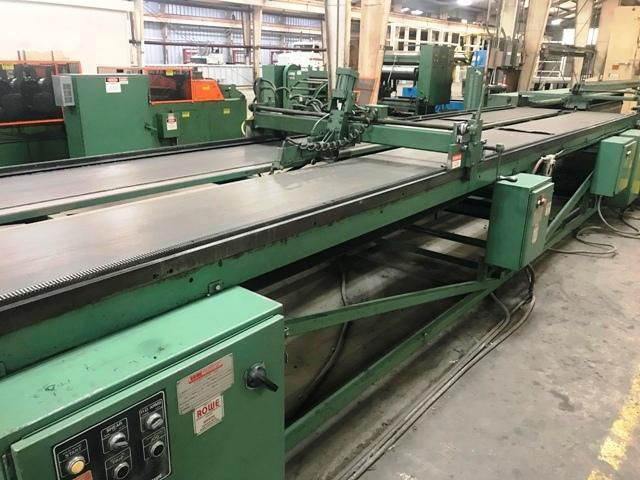 """Rowe / Herr-Voss 50"""" Embossing & Cut-To-Length Line"""