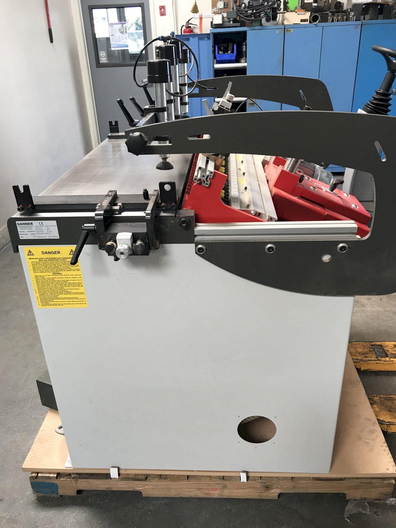 Gannomat DB27 Dowel Hole Boring Machine 2017