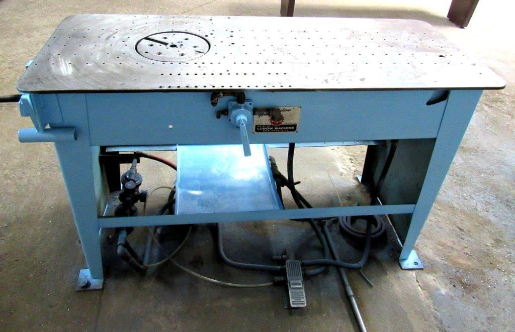 Lubow ML-10 Single Stop Table Bender