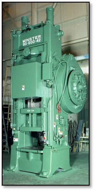 Minster 90-1200 Knuckle Press, Remanufactured