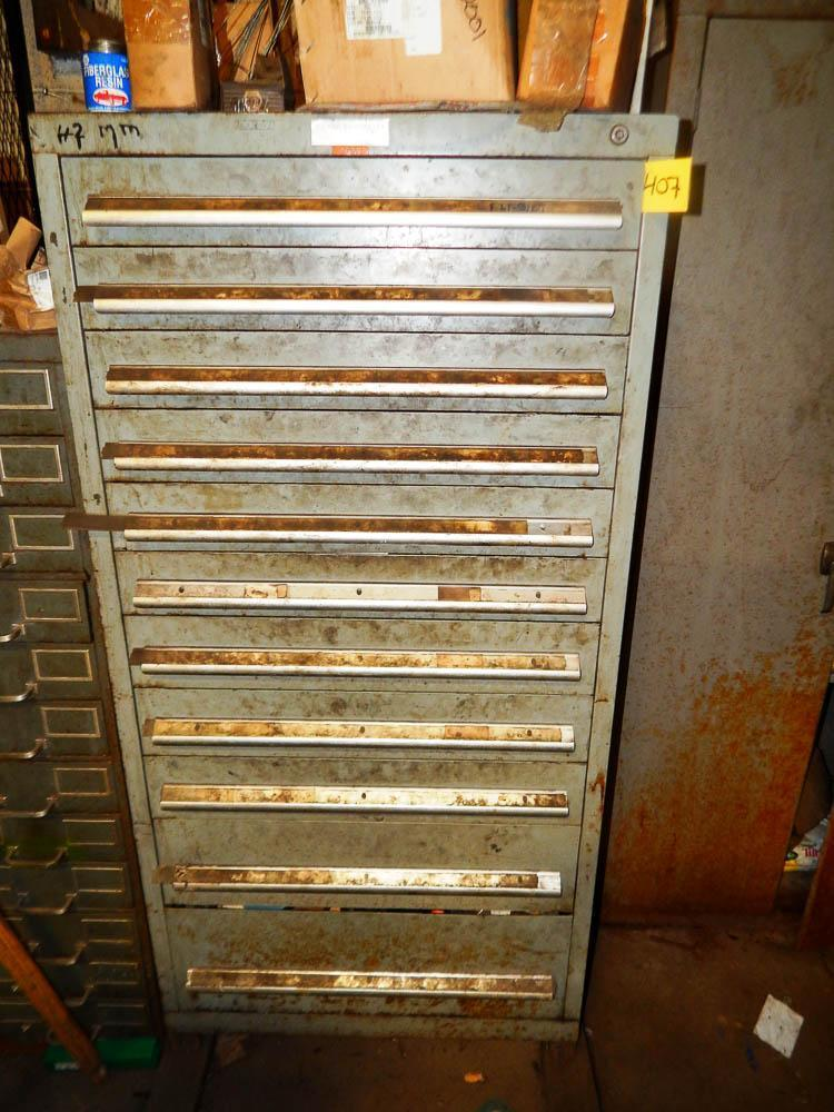 11 DRAWER NUE-ERA VIDMAR STYLE CABINET: STOCK #65224