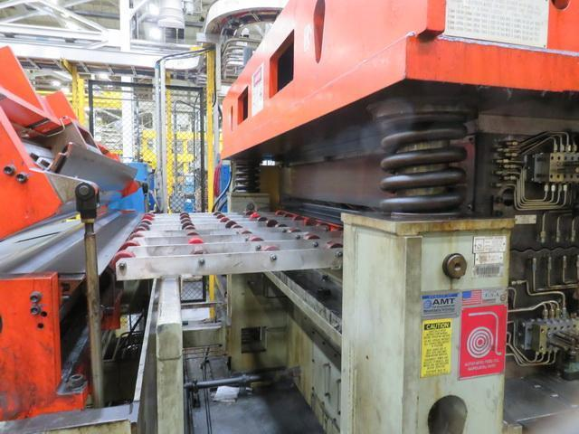 1000 Ton Blanking Line with Automatic Feed Feed Line for Producing CLASS 1 Automotive Blanks