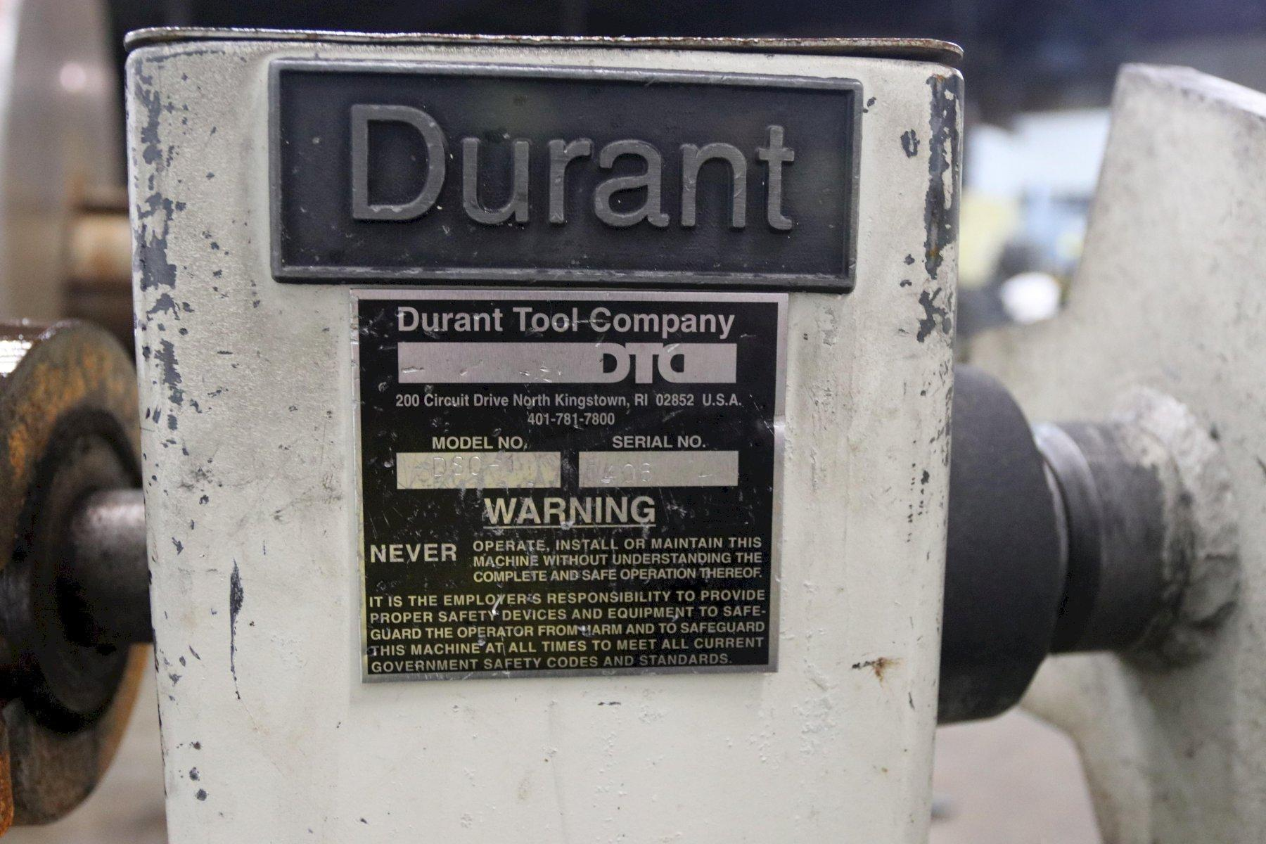 "600 LB X 10"" DURANT MODEL #DSC-1 NON POWERED COIL REEL"