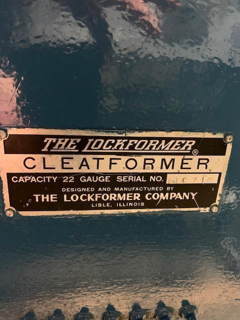"""Lockformer """"S"""" Cleat w/ Slitting Attachment, Drive Cleat and 3 in 1 Rolls"""