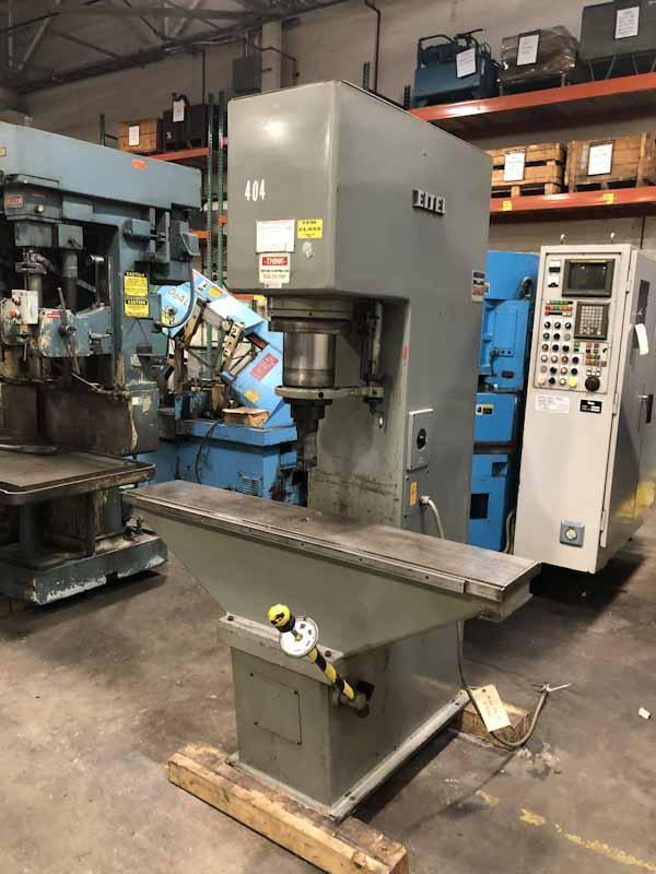 40-Ton Eitel Model RP-40 Hydraulic Straightening Press