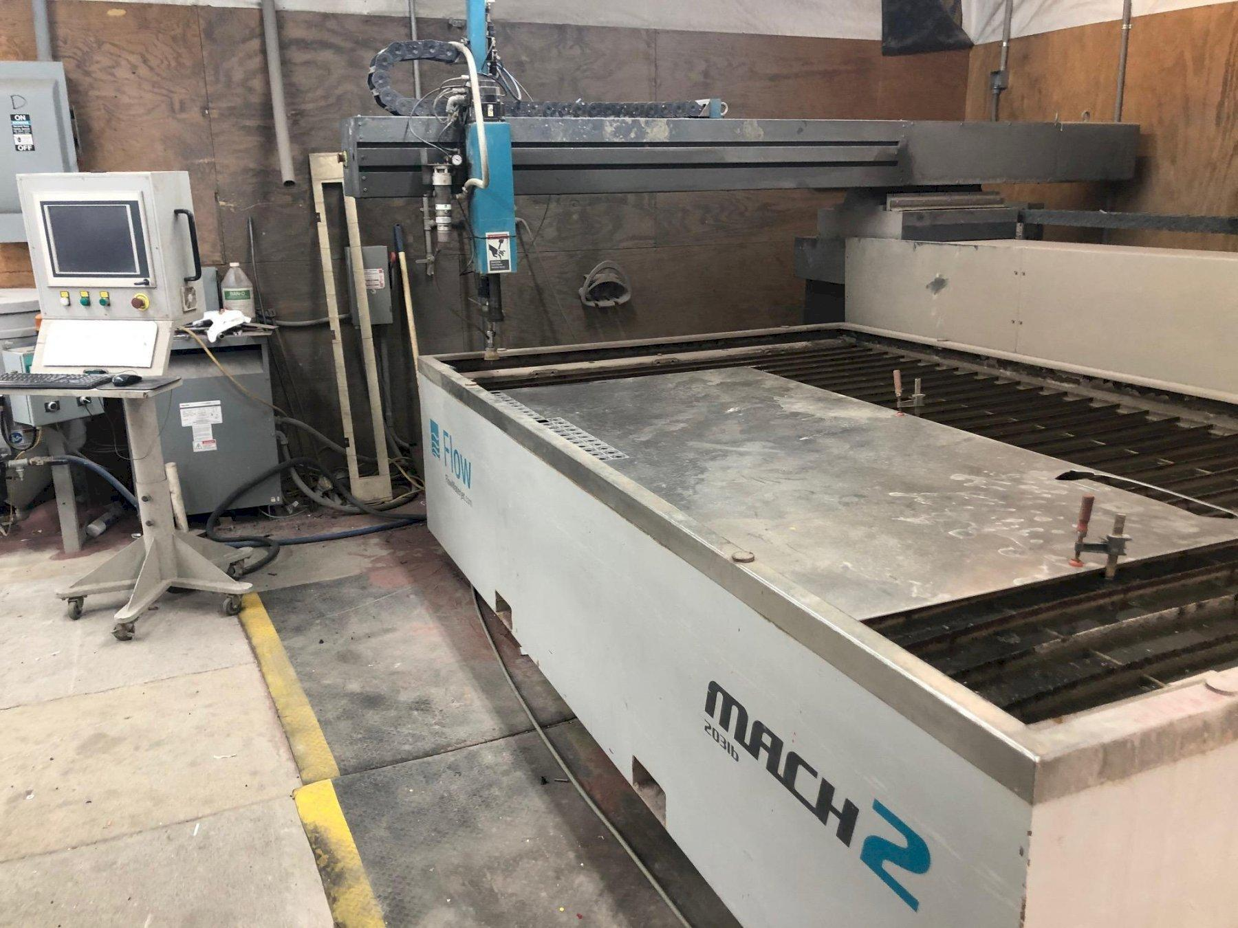 Flow Mach 2b 6'x10' CNC Waterjet Cutting System - New 2013