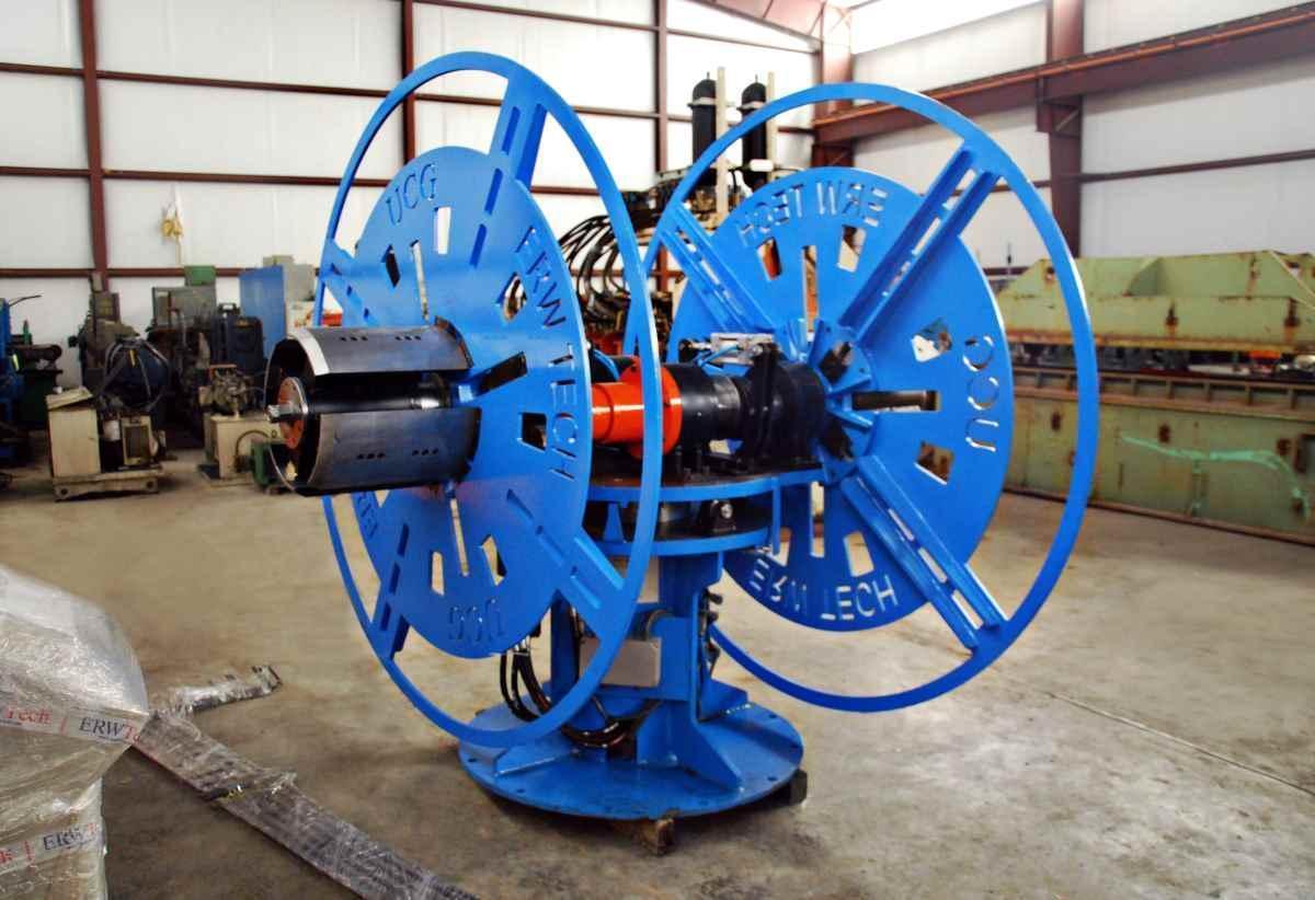 NEW 11,000 Lb. x 12″ ERWTech/UCG Double Uncoiler