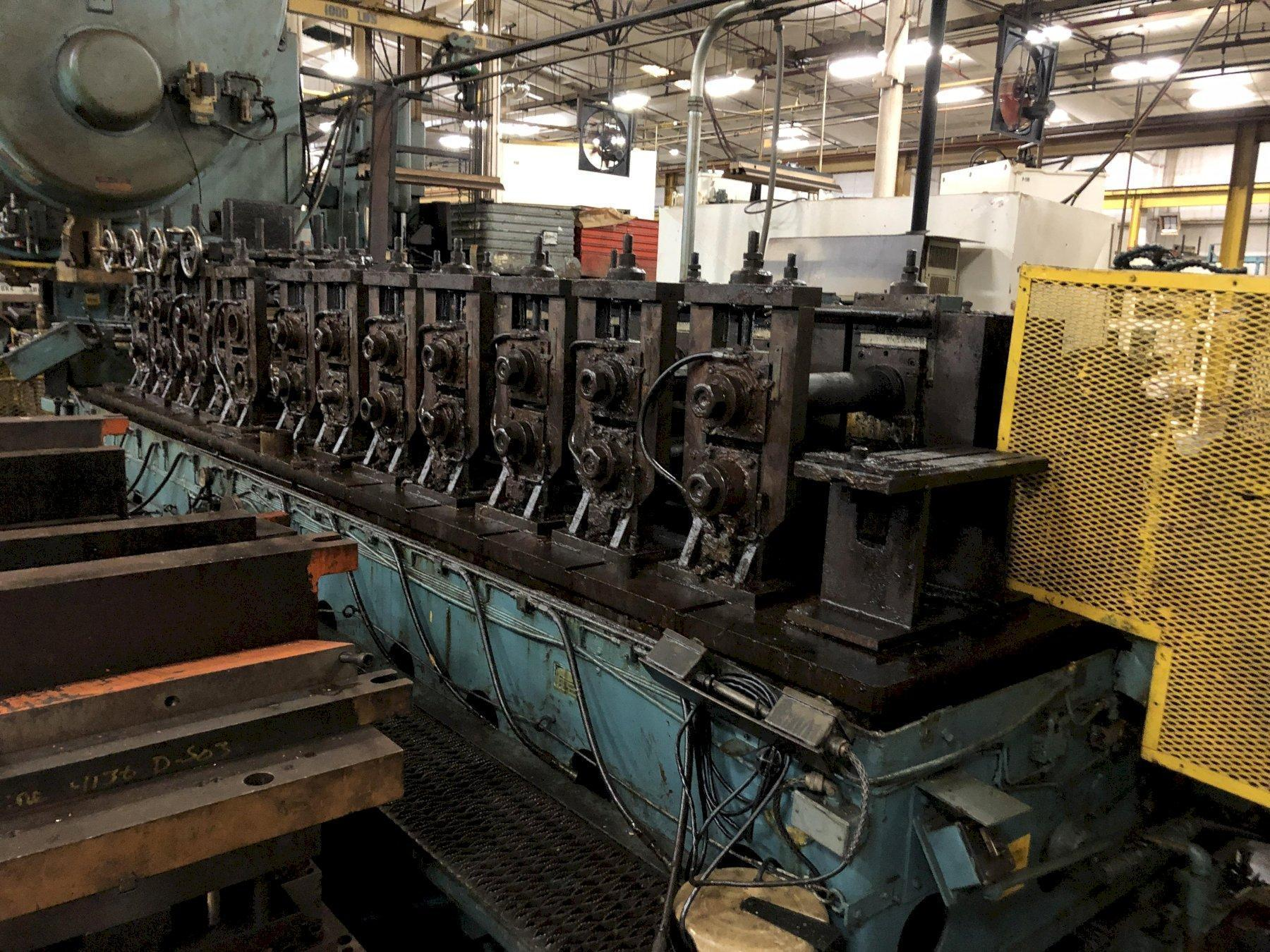 """12 STAND X 3.5"""" MAPLEWOOD ROLLFORMER: STOCK #0951521"""
