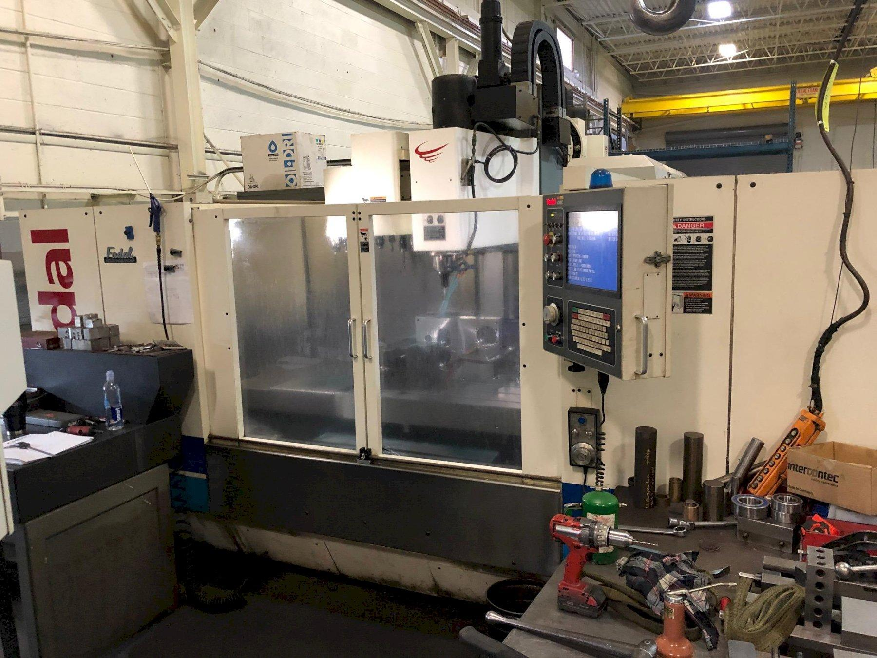2011 FADAL VMC-6030HT Reman - Vertical Machining Center