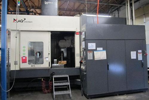 CINCINNATI MAGNUM H5-800AP, ACRAMATIC 2100 CNC