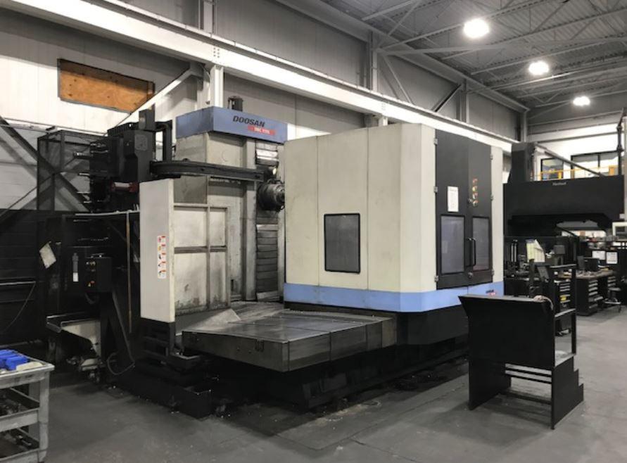 2011 Doosan DBC-110s CNC Horizontal Boring Mill