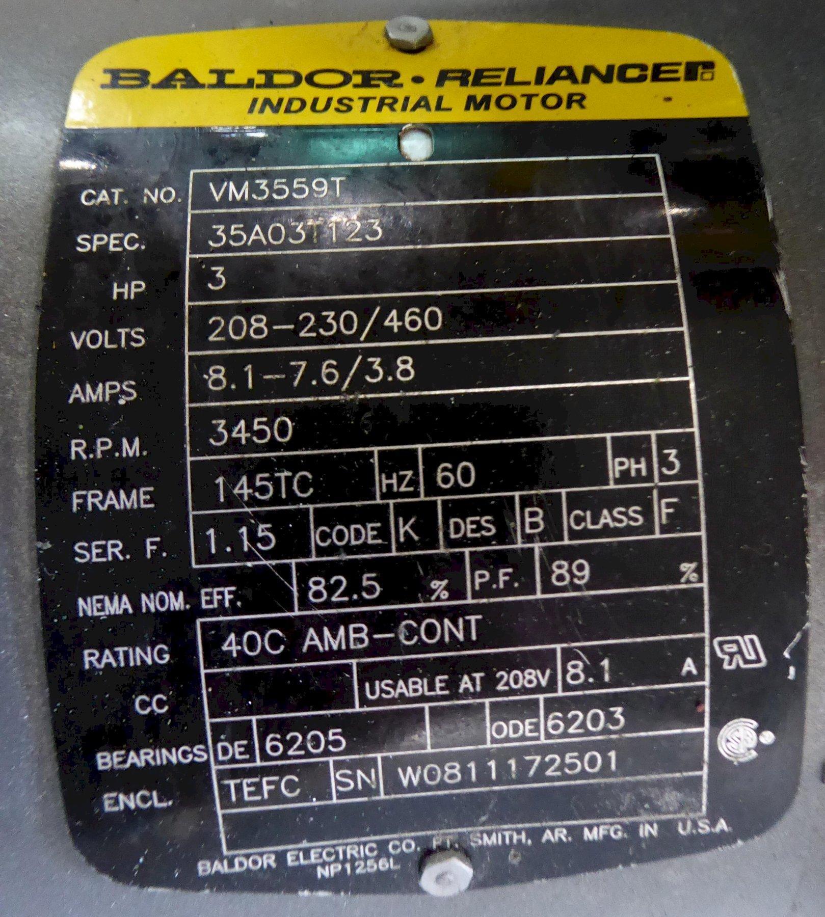 "4"" Kalamazoo Belt Grinder, Model KS490V, 4""W x 90""L Belt, 3 HP, Direct Drive"