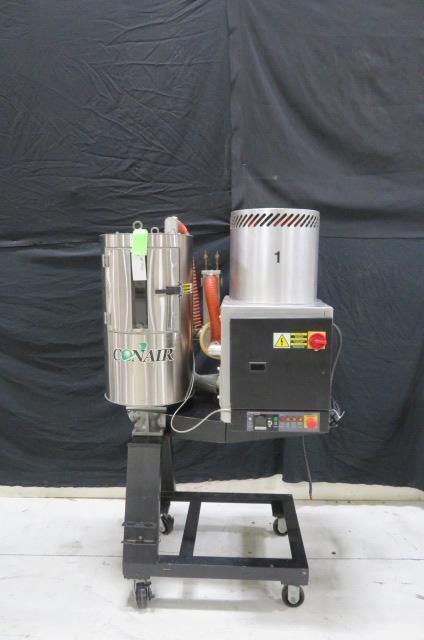 Conair Used SC30/CH14-2 Material Dryer, Approx 30 lb/hr Desiccant, 208V, Yr. 1997