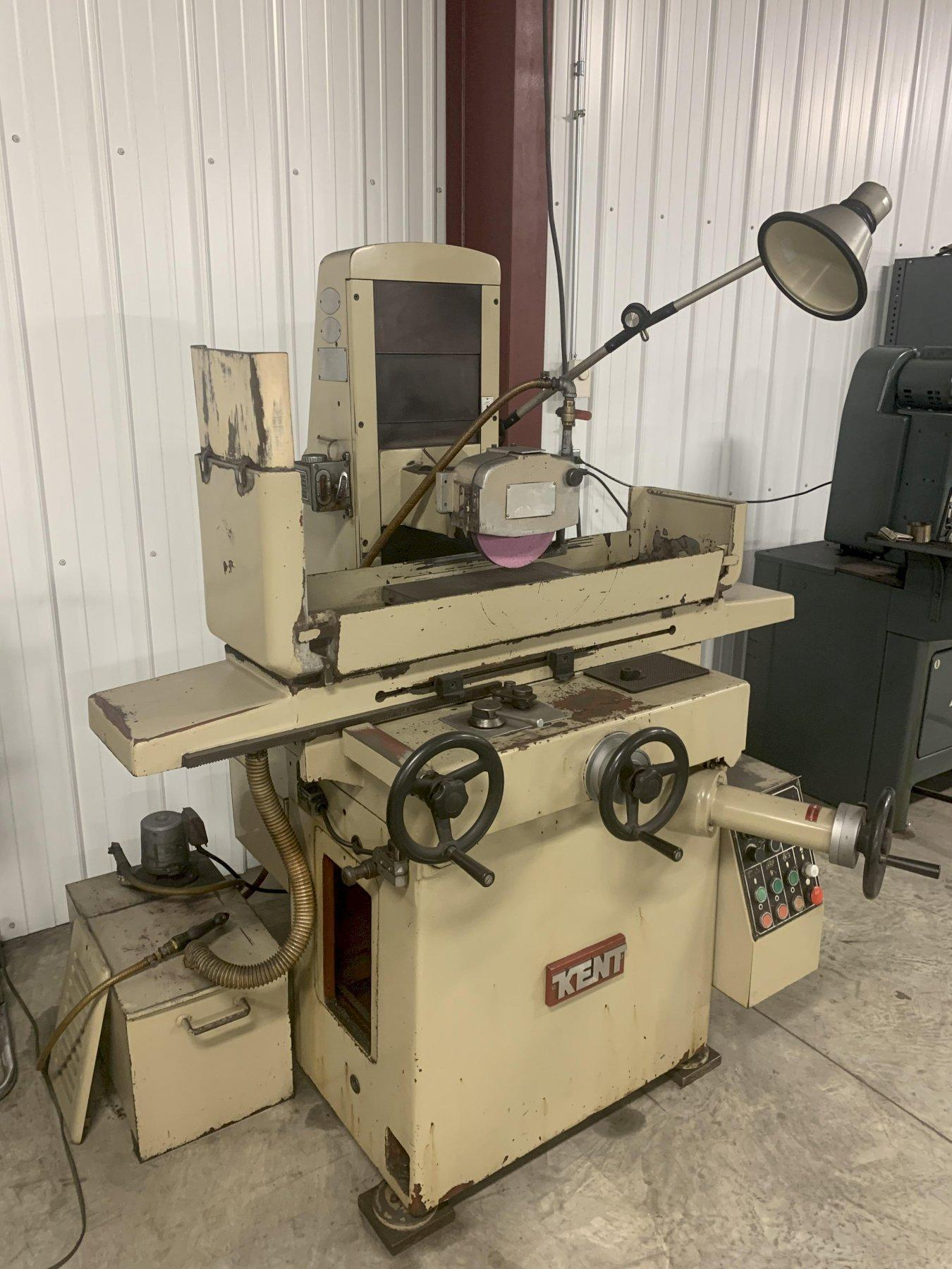"10"" X 20"" KENT MODEL #KGS-250AH HORIZONTAL SURFACE GRINDER: STOCK 12981"