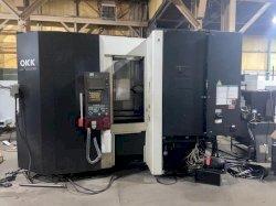 OKK HP500S CNC Horizontal Machining Center, Fanuc 180i, 19.6