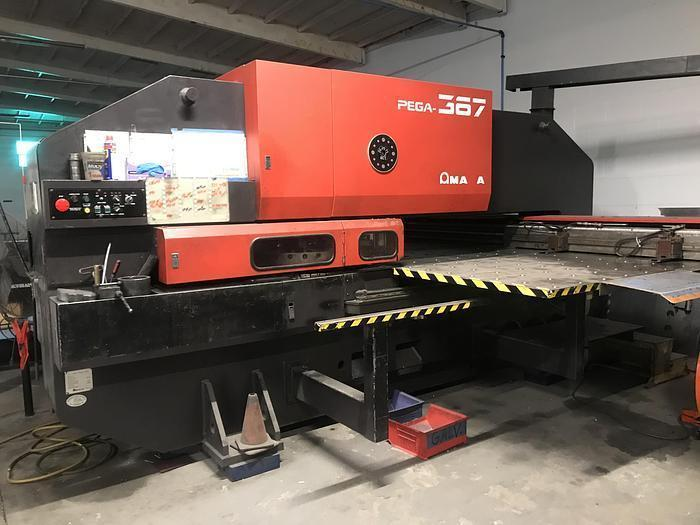 Amada 33Ton  Pega  367 Turret Punch Press
