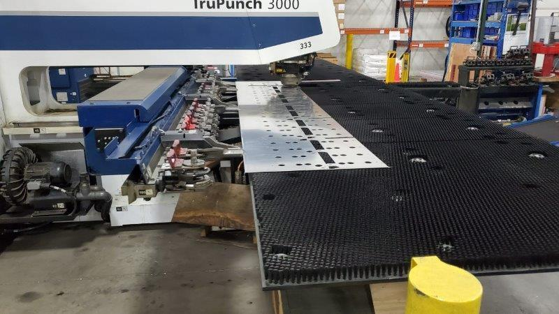 "2012 Trumpf TruPunch 3000, Electric Servo Ram, 18 Stations, 50"" x 100"" Capacity"