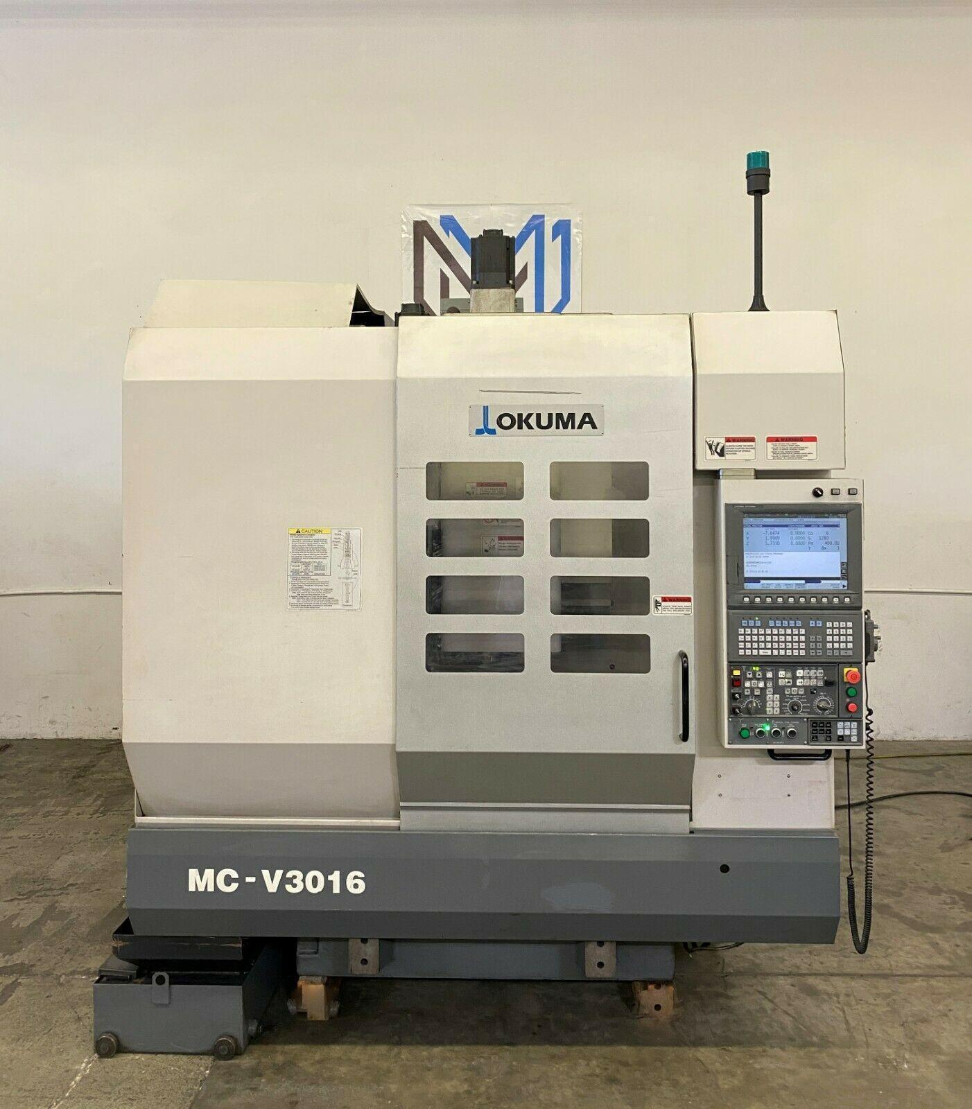 OKUMA MC-V3016 VERTICAL MACHINING CENTER