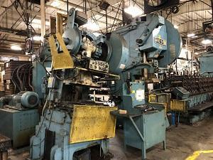 12 STAND MAPLEWOOD ROLL FORMING LINE   Our stock number: 115063