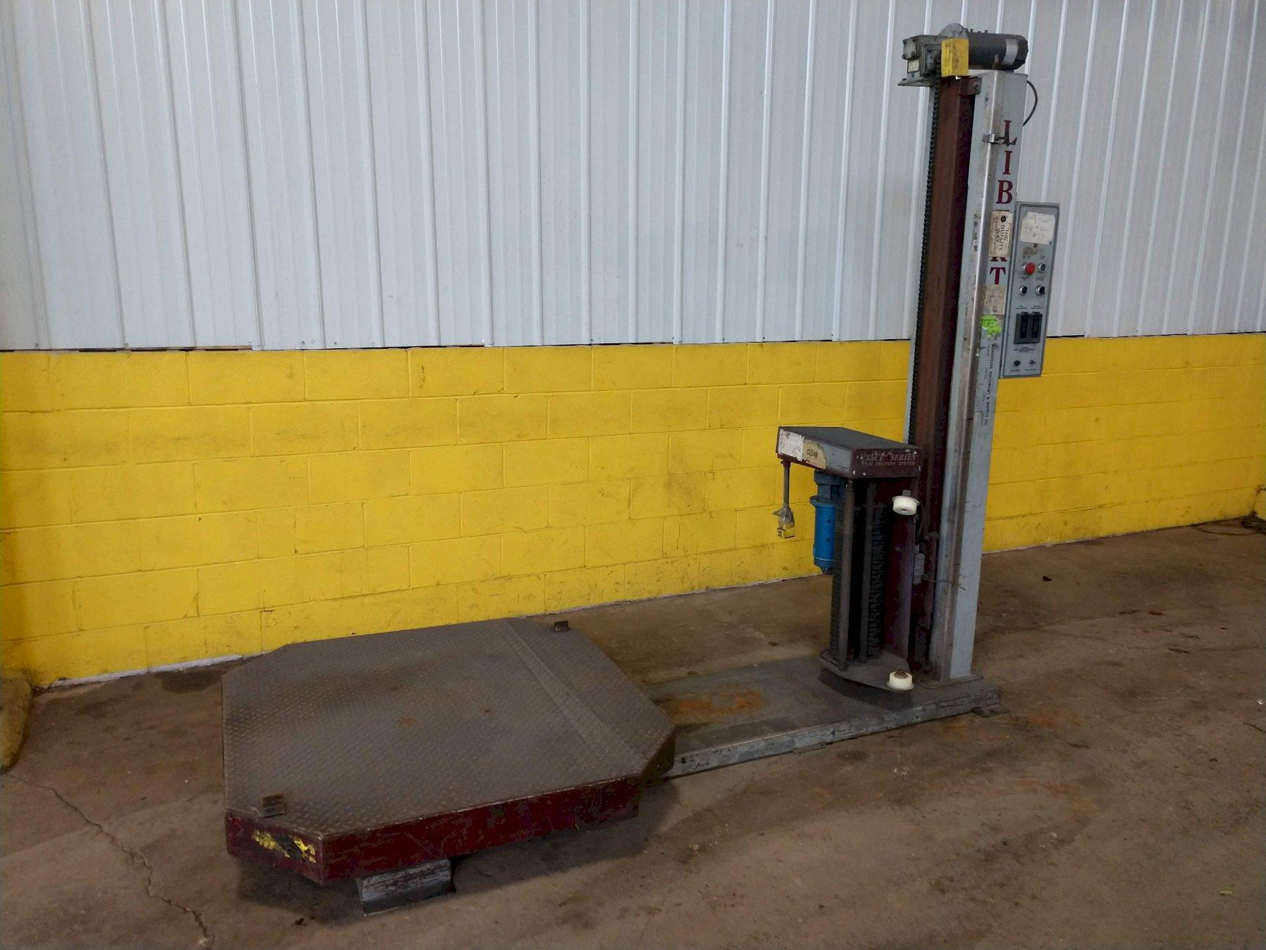 """48"""" LIBERTY INDUSTRIES SERIES 500 ROTARY TABLE STRETCH WRAPPER"""