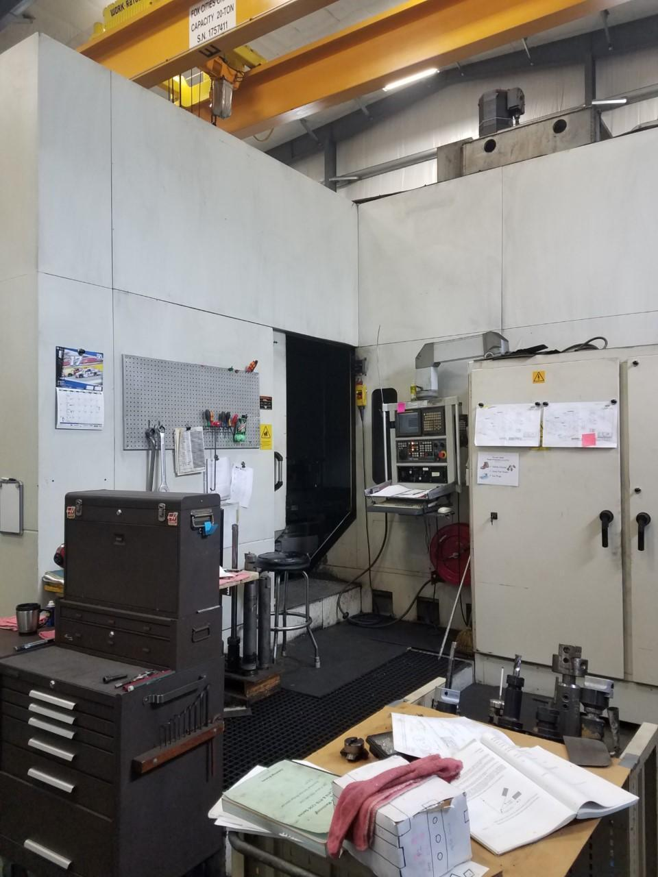 2007 GIDDINGS & LEWIS HMC 410 HORIZONTAL MACHINING CENTER