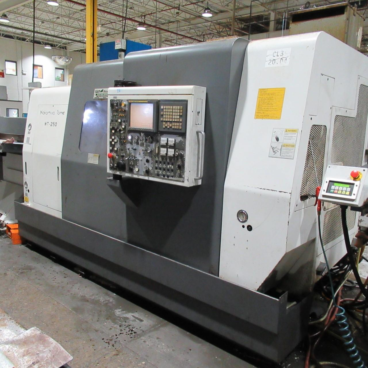 NAKAMURA TOME WT-250 (3 Machines Available)