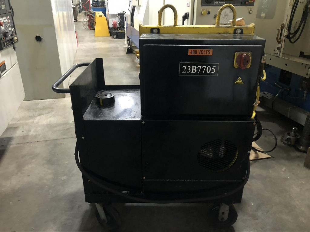 LAMINA 440 VOLT HYDRAULIC POWER SUPPLY AND MODEL H15010P MAG. BASE DRILLING AND TAPPING UNIT
