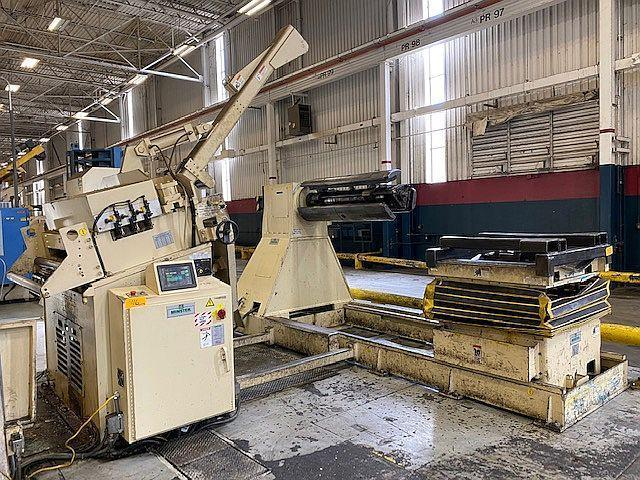 "30,000 lbs x 50"" Minster Servo Coil Feed Line, New 2004"
