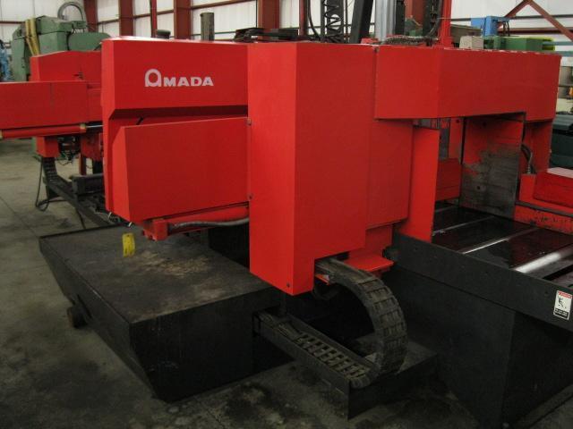 "24"" x 20"" AMADA MODEL HKB 6050 AUTOMATIC CNC HORIZONTAL BAND SAW"