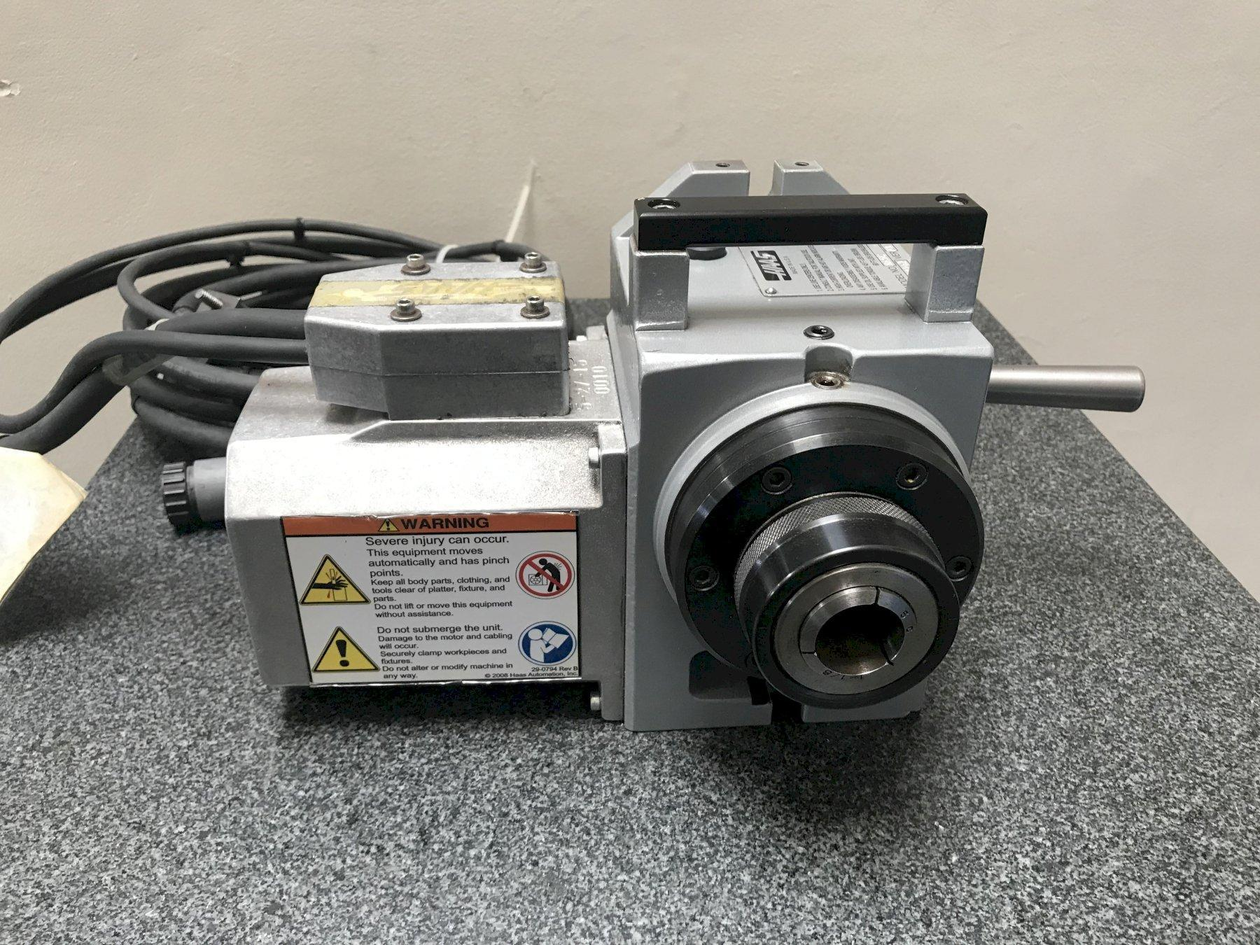 Haas HA5C Rotary Table Indexer 2015 VER: P3 Brushless Style Servos Sigma 5.