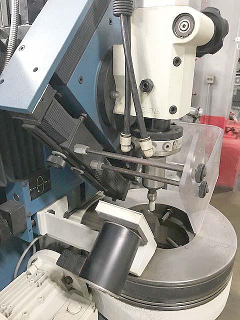 "FISCHER CENTER HOLE GRINDER, Model ZSM-P-1000, 5"" Max Part Diameter, 40"" Max Part Length, Swiveling Head, 60,000 RPM Spindle, Rotary Dresser, New 2005."