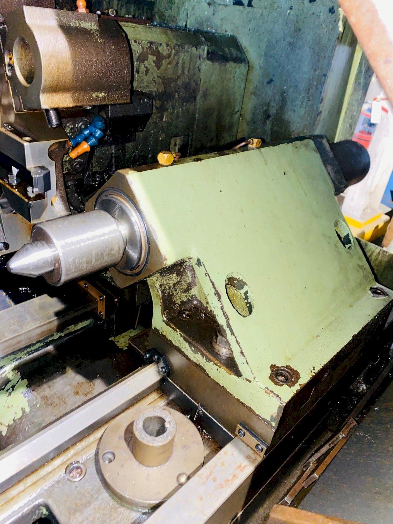 HITACHI- SEIKI MODEL 4NEII-600 CNC TURNING CENTER. STOCK # 0955420
