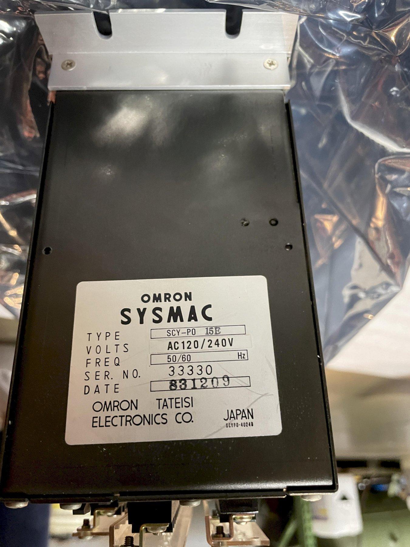 OMRON TATEISI ELECTRONICS CO SYSMAC Sequence Controller, Model SCY-P0 15E.