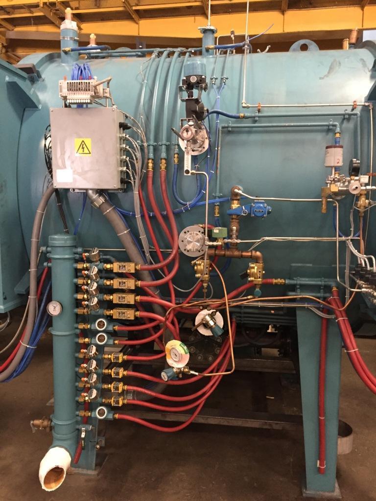 CENTORR SINTERVAC C600 SERIES 3710 SINTERING AND DEBINDING VACUUM FURNACE