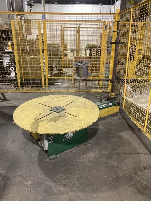 3,500 LB Accra Wire Controls Motorized Pallet Decoiler
