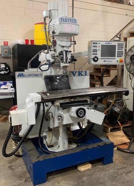 Milltronics VK-1 Partner 2-Axis CNC Toolroom Mill