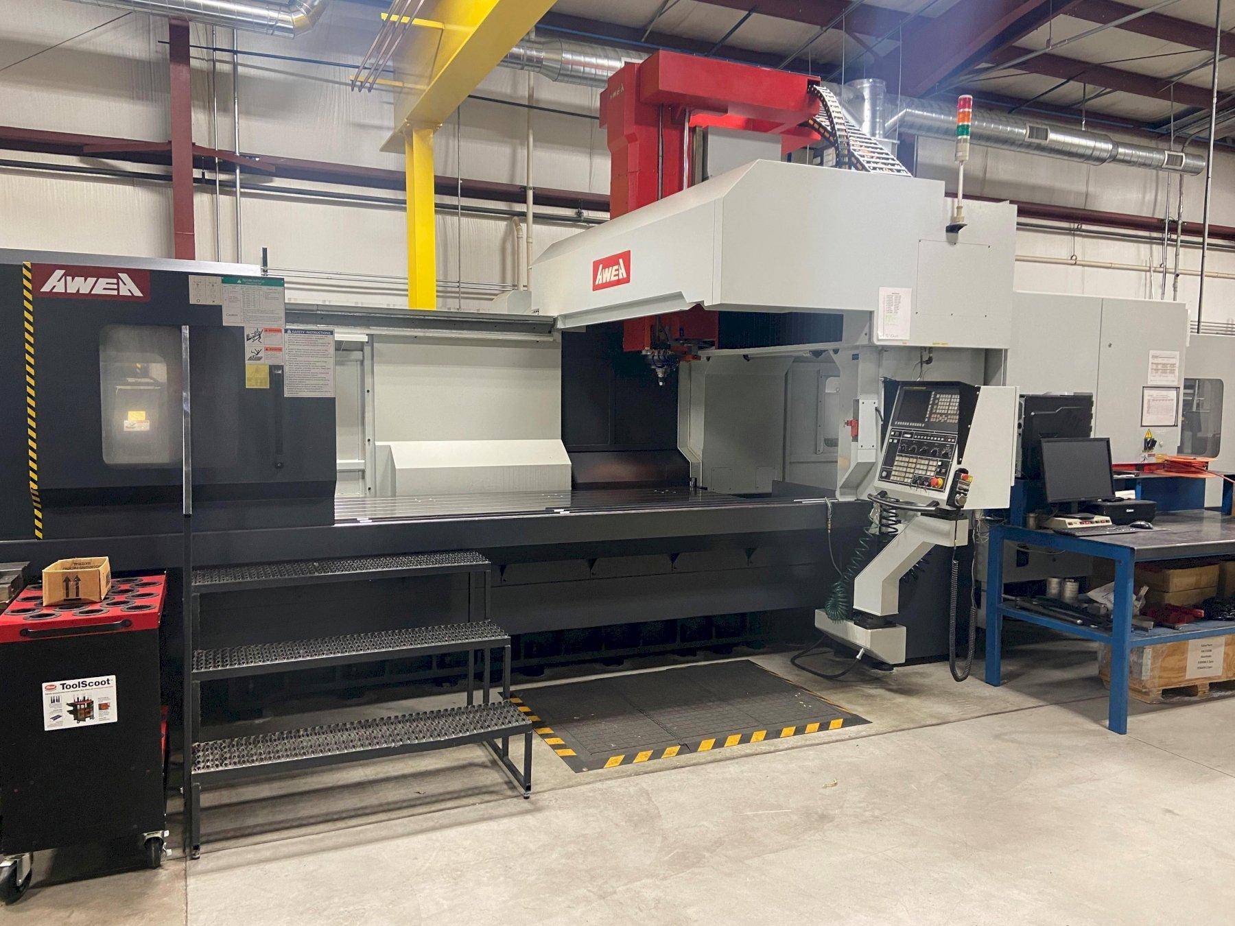 Awea SP-3016 CNC Bridge Style Vertical Machining Center