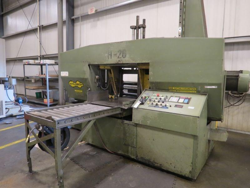 USED HYD-MECH H-26A HORIZONTAL AUTOMATIC BAND SAW