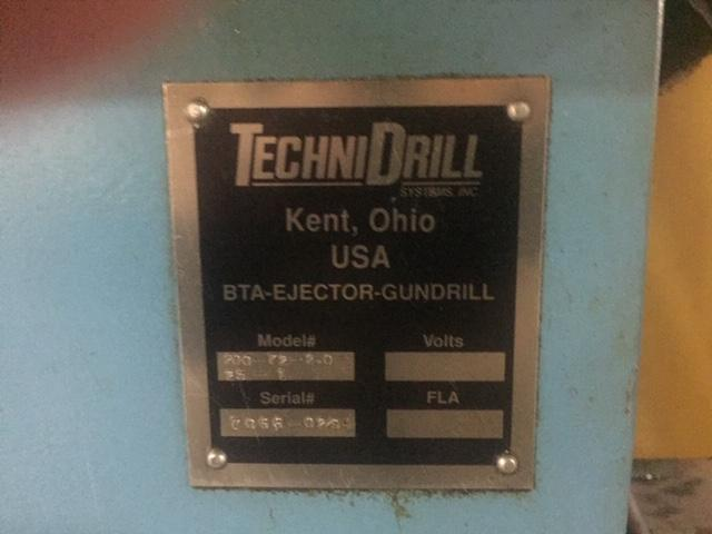 "2"" x 72"" Technidrill BTA Ejector Counter Rotating Gun Drill"