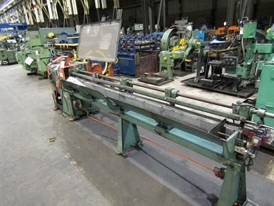 "5/16"" Shuster Model 2A4V Wire Straighten & Cutoff Machine"