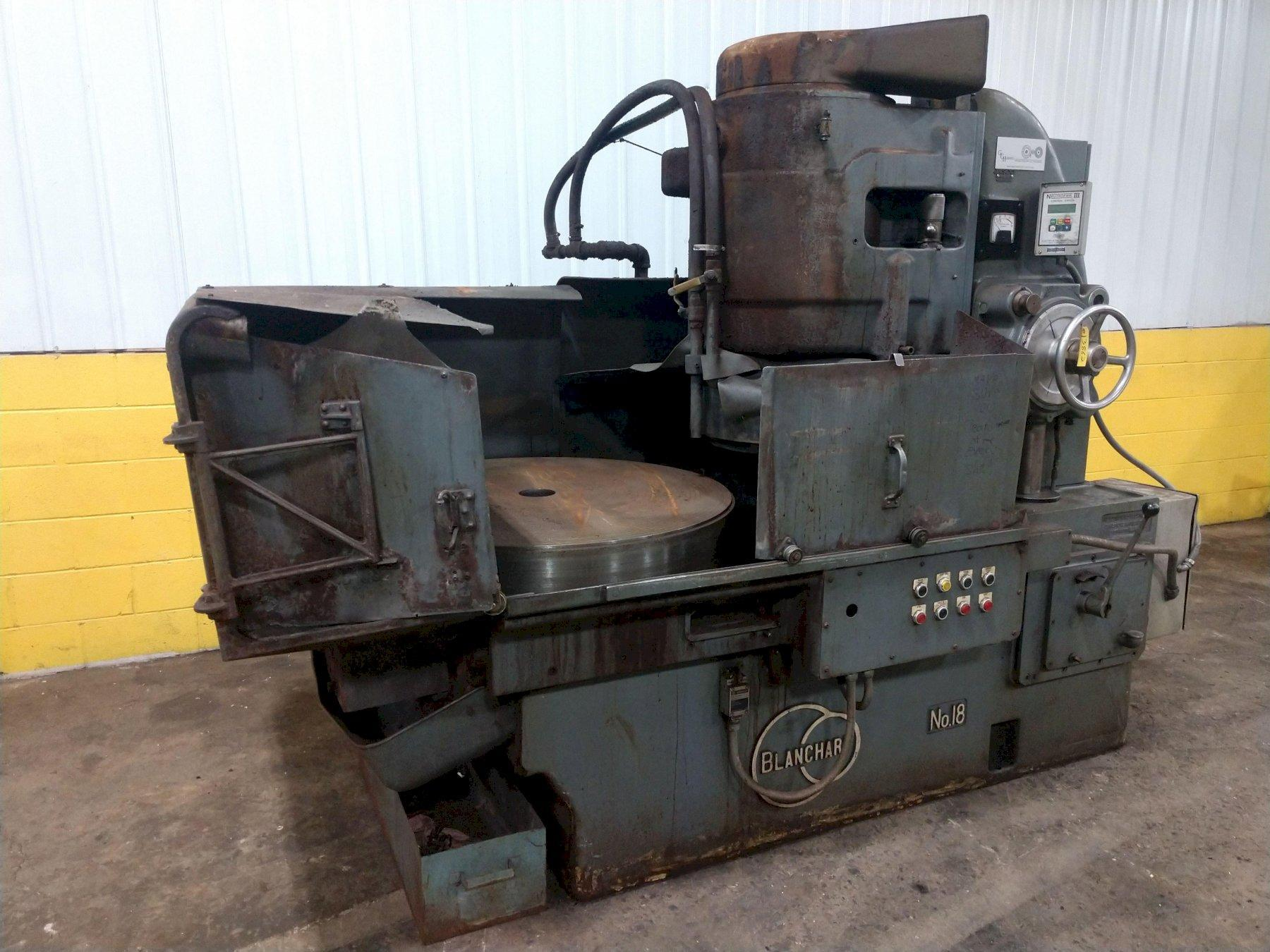 "36"" BLANCHARD MODEL #18 ROTARY SURFACE GRINDER: STOCK 13862"