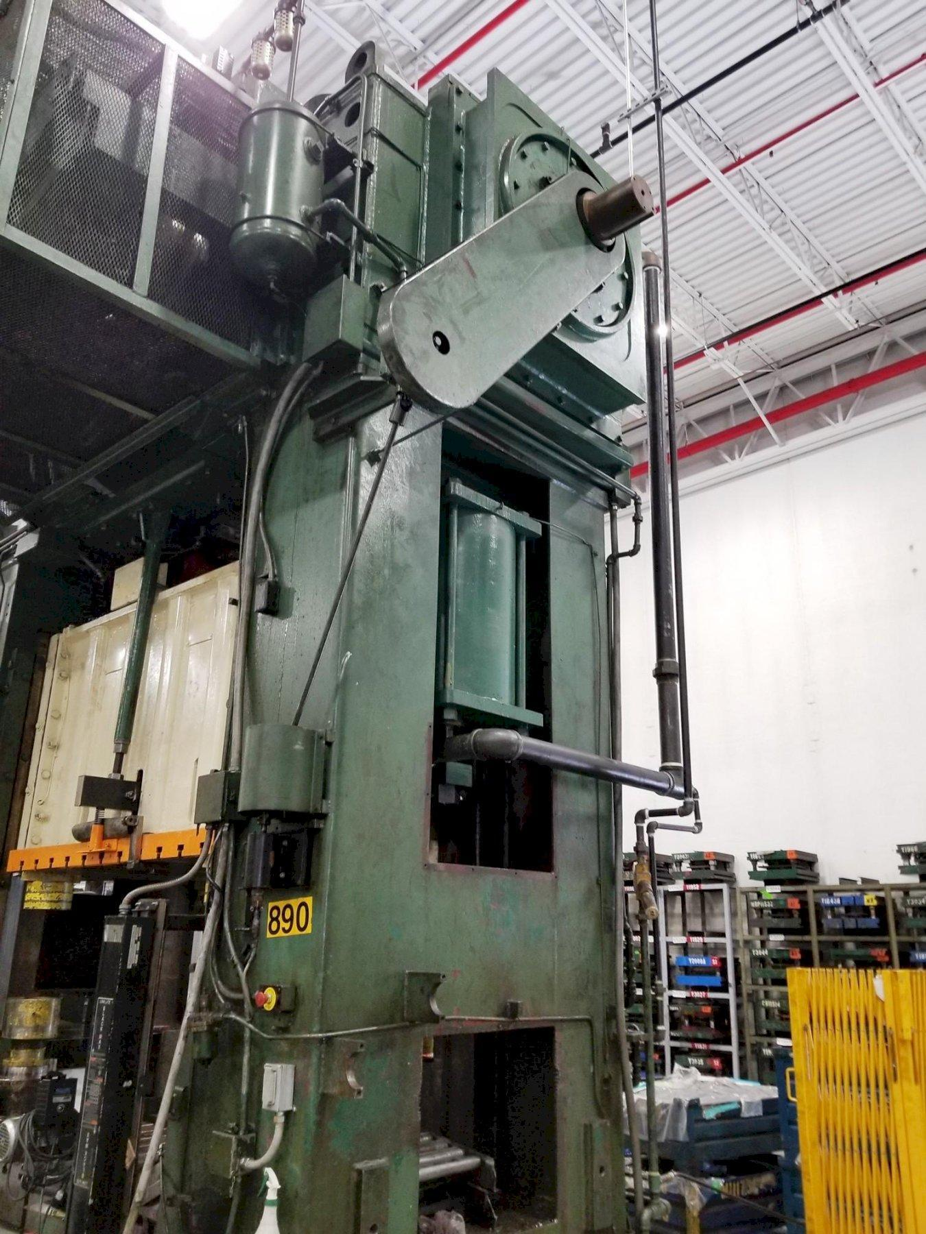 600 Ton Bliss Straight Side Double Crank Press