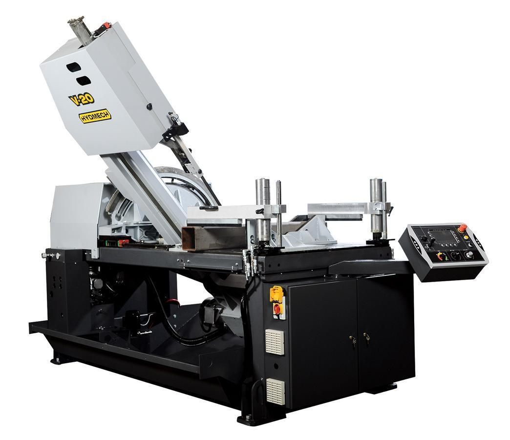"NEW - 25""H x 20""W HYD-MECH V-20 VERTICAL TILT FRAME BAND SAW"