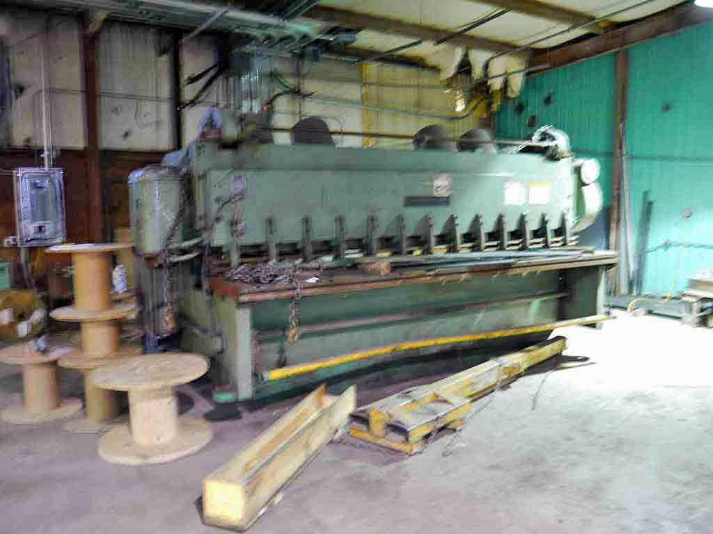 "0.500"" x 12' Cincinnati Power Squaring Shear"