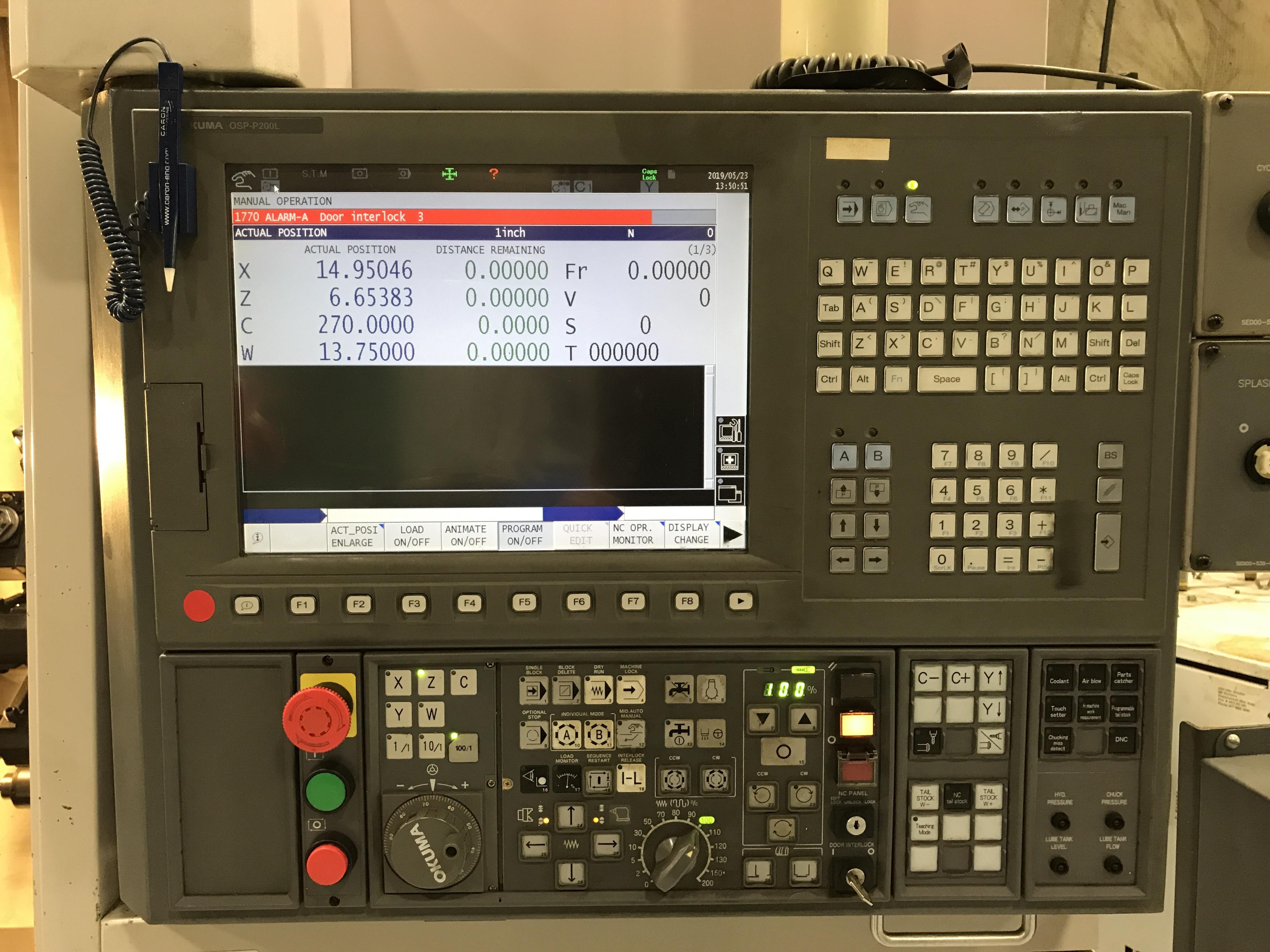 OKUMA LB3000EX-MYC - 2008 CNC Horizontal Lathe