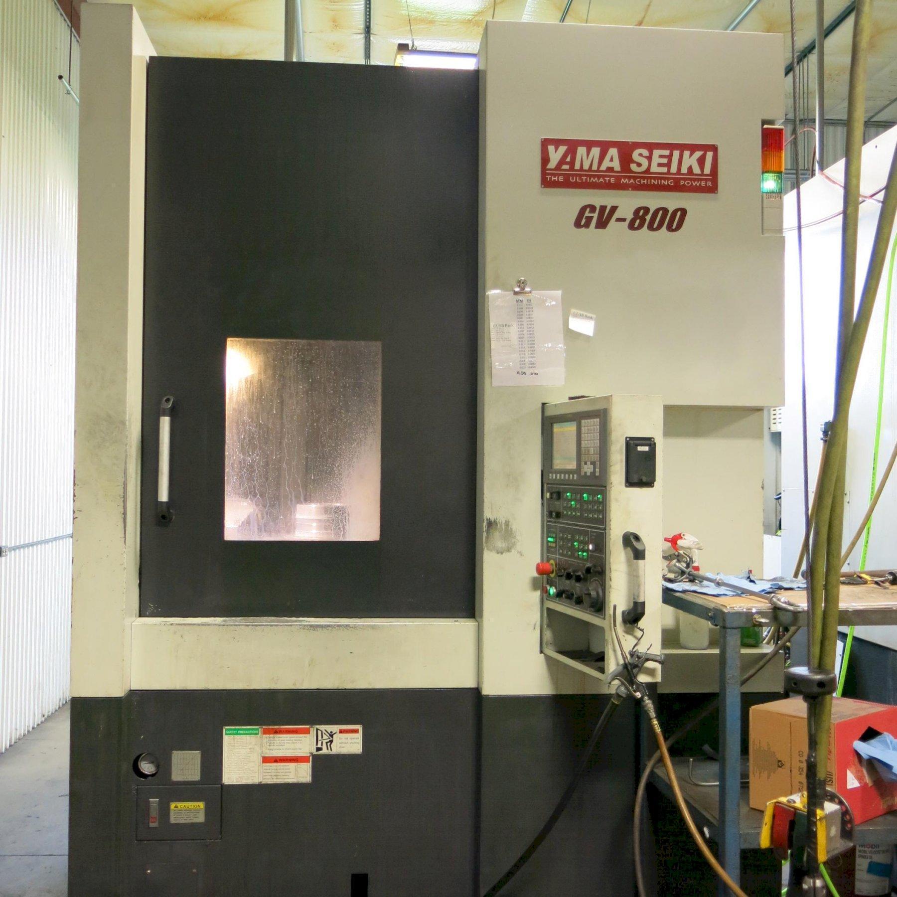 Yama Seiki GV-800 CNC Vertical Turning Center