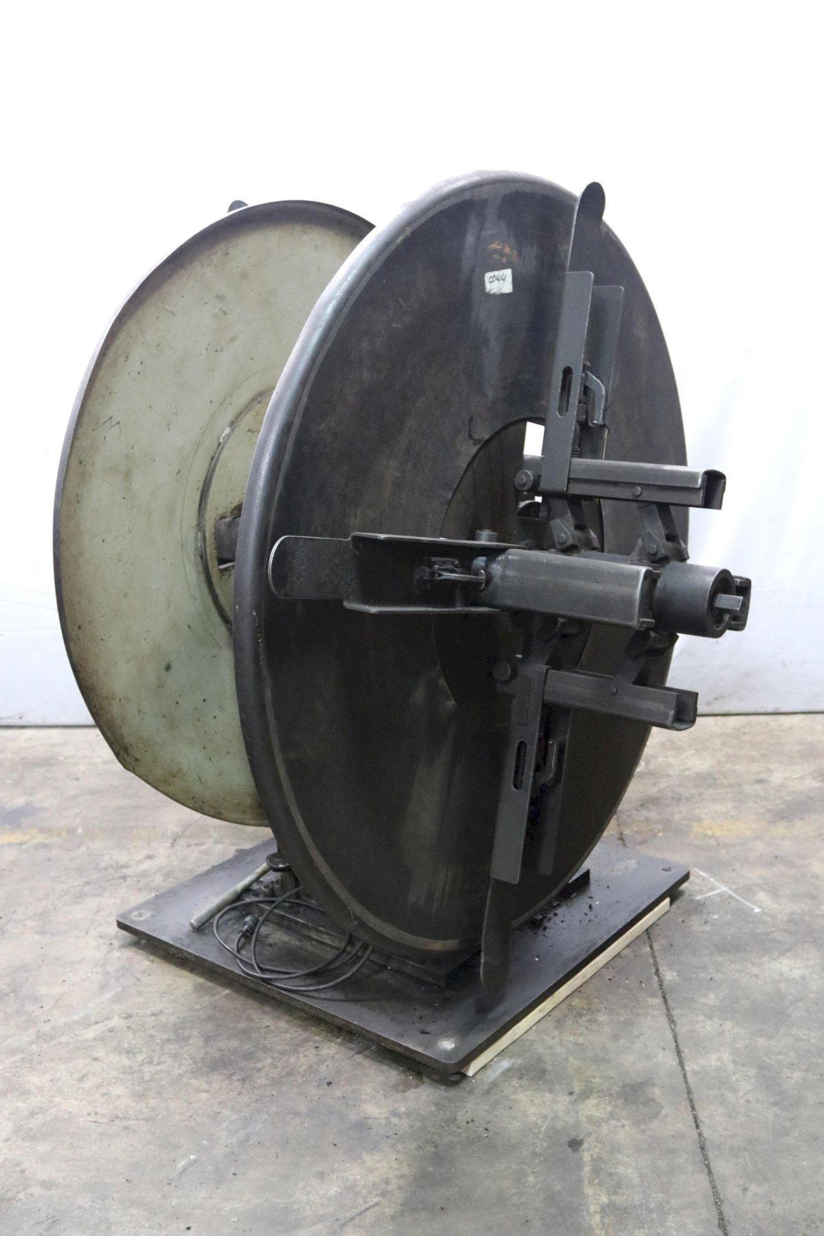 "6000 LB X 12"" PERFECTO MODEL #RD4-12B DOUBLE END COIL REEL UNCOILER: STOCK 12048"