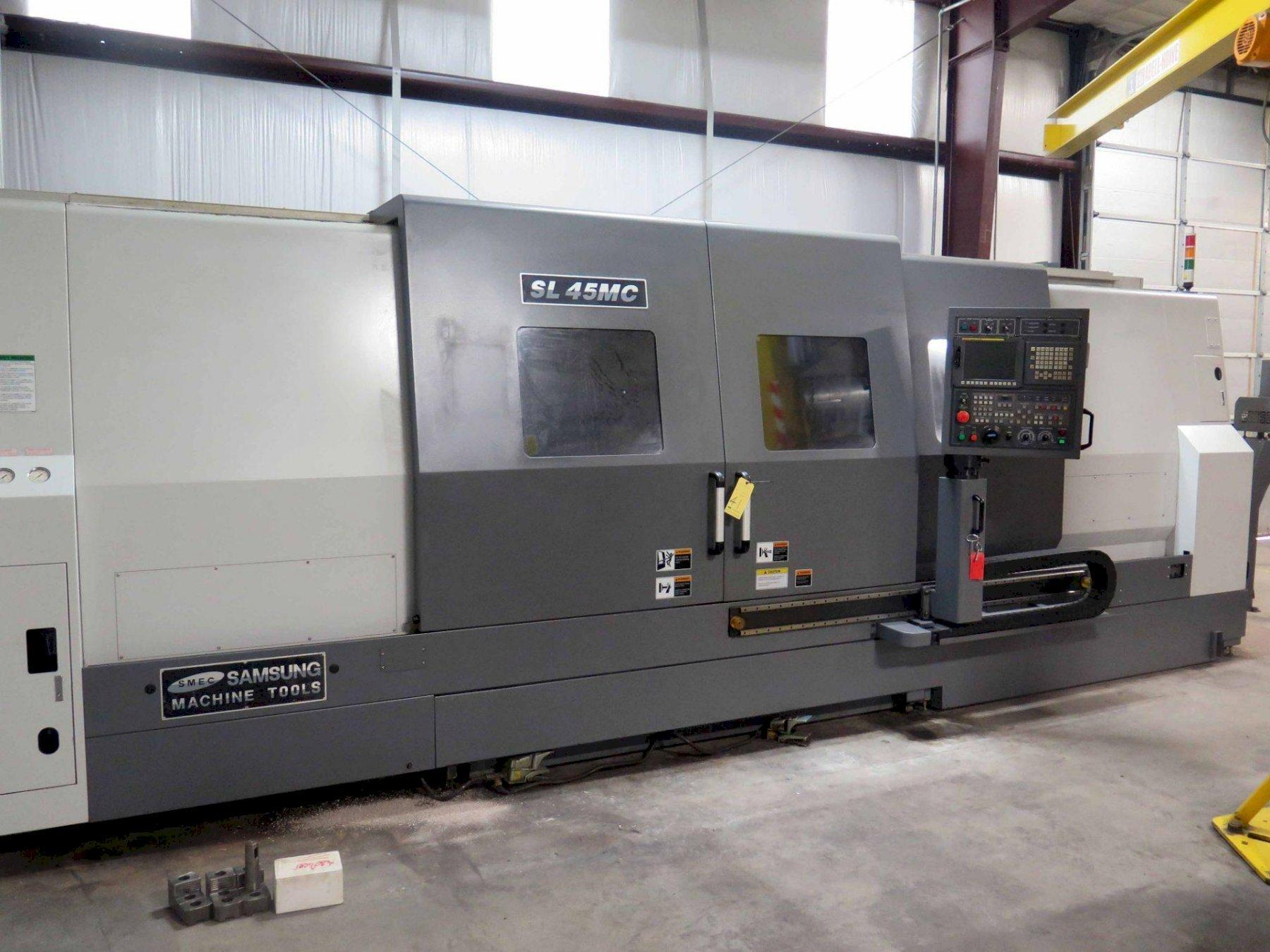 Samsung SL45MC/3000BB CNC Turning Center